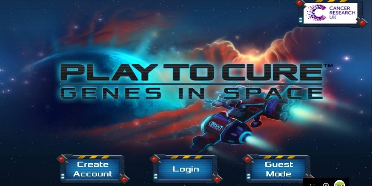 """""""Play To Cure: Genes in Space"""": Juega a la vez que ayudas a vencer al cáncer"""
