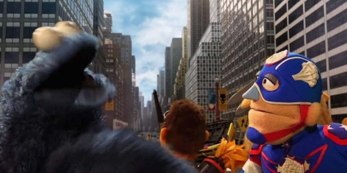 Plaza Sésamo parodia a los Avengers y el resultado es muy nutritivo