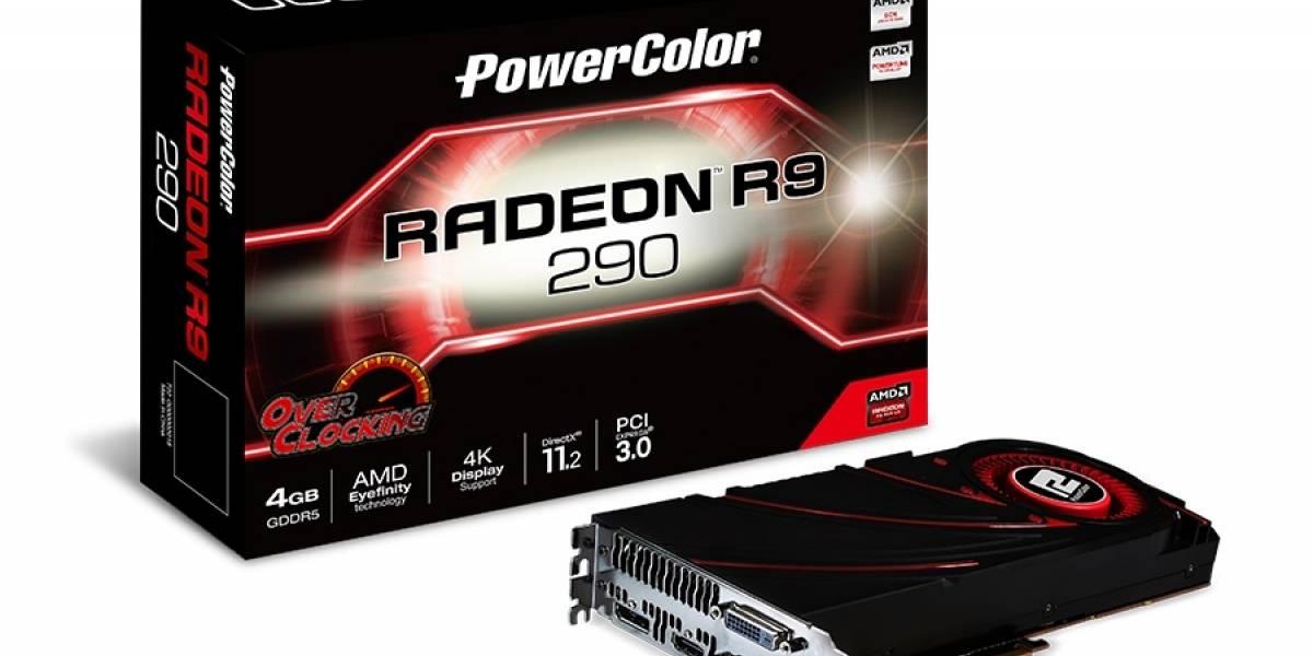¿Algunas PowerColor R9 290 OC son desbloqueables a R9 290X OC?