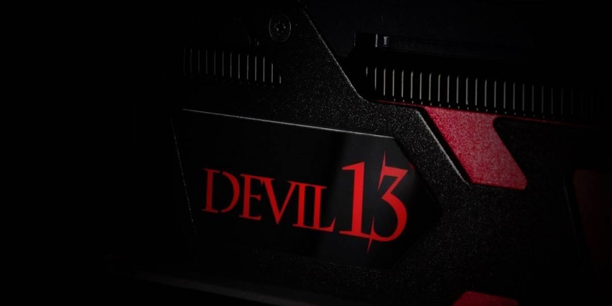 PowerColor revela su tarjeta gráfica Radeon R9 290X2 Devil 13