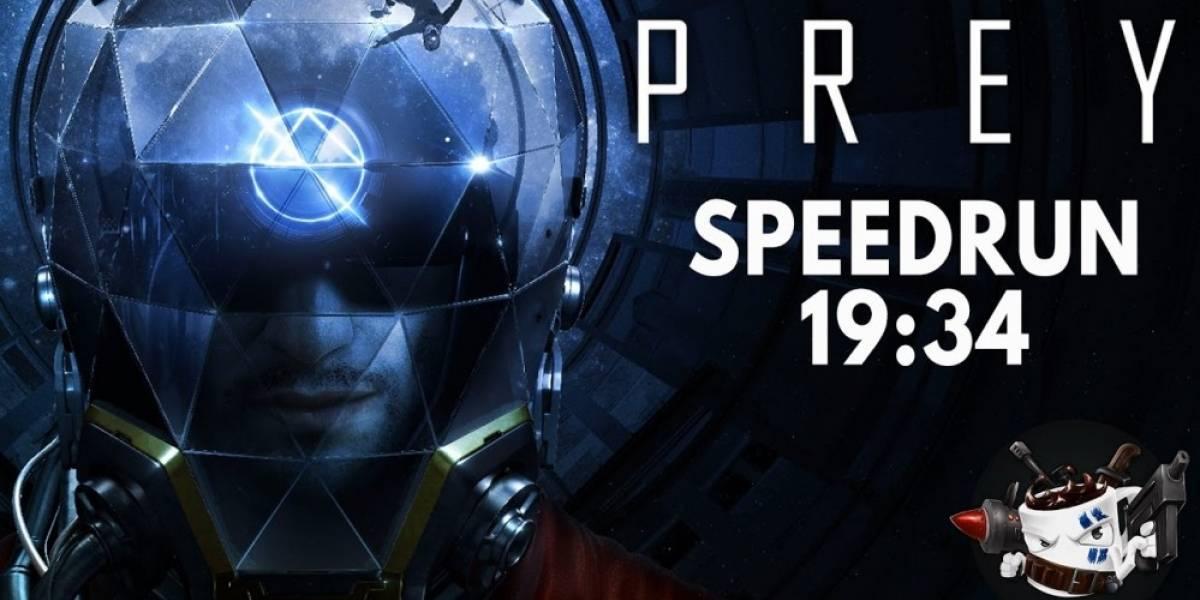 Un Speedrunner terminó Prey en menos de 20 minutos