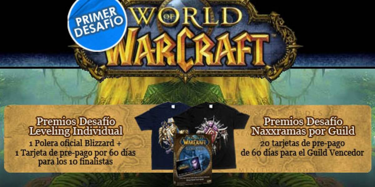 Telefónica te invita al primer Desafío de World of Warcraft en Chile [Actualizado]