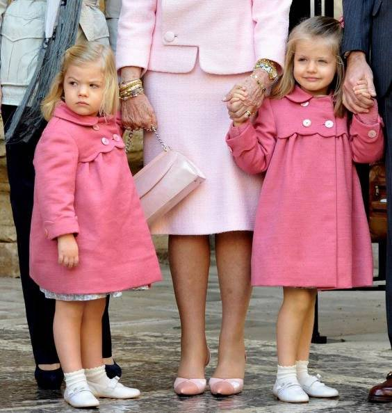 princesa Sofía e princesa Leonor