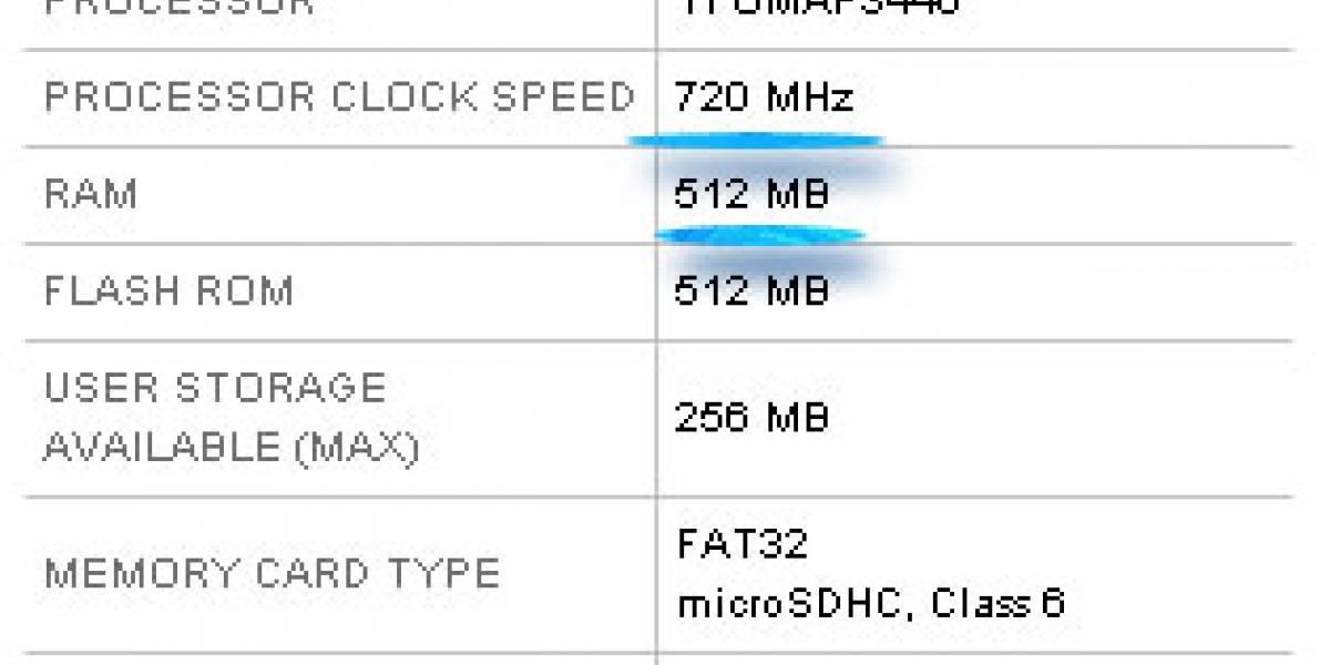 Le mejoran algunas características al Motorola MILESTONE XT720