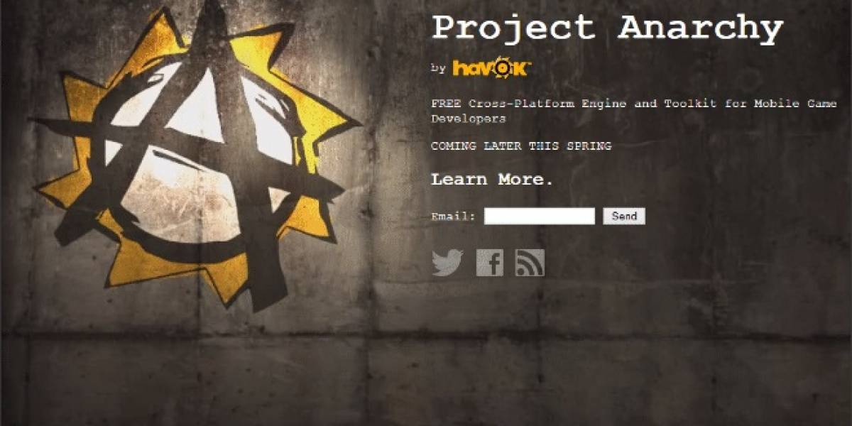 GDC 2013: Havok anuncia Project Anarchy