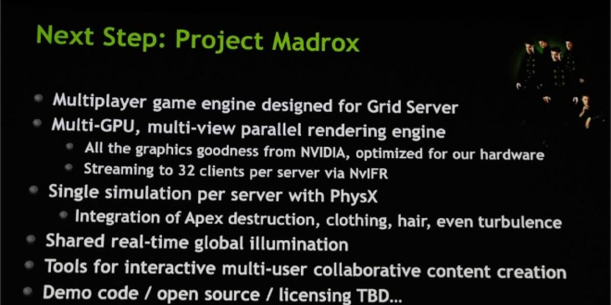 "GDC 2013: NVIDIA alista su game engine en la nube ""Project Madrox"""