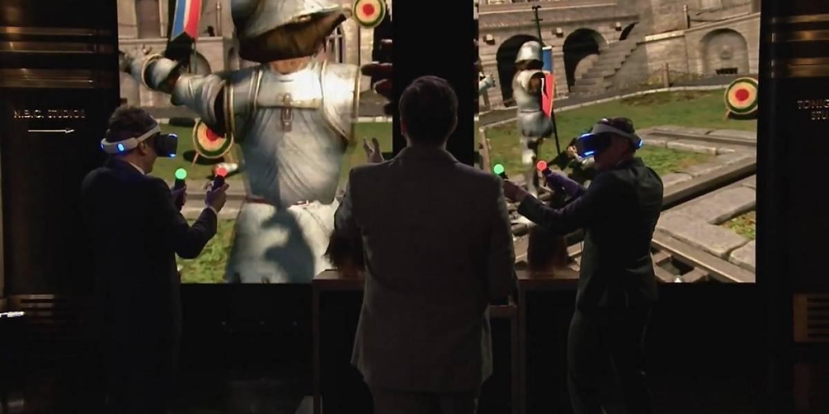 Sony hace demostración pública de sus gafas VR Proyecto Morpheus