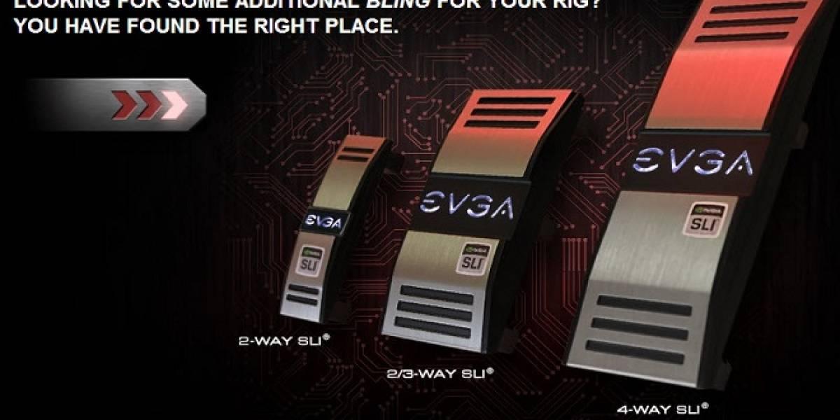 EVGA lanza sus PRO SLI Bridge: SLI con estilo