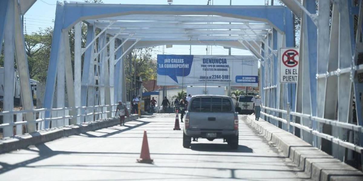 Inauguran proyecto de modernización y seguridad en frontera con El Salvador