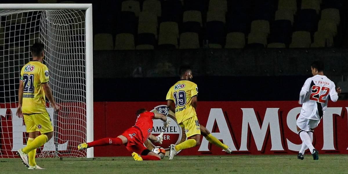 U. de Conce vivió una verdadera pesadilla en la Libertadores tras goleada de Vasco da Gama