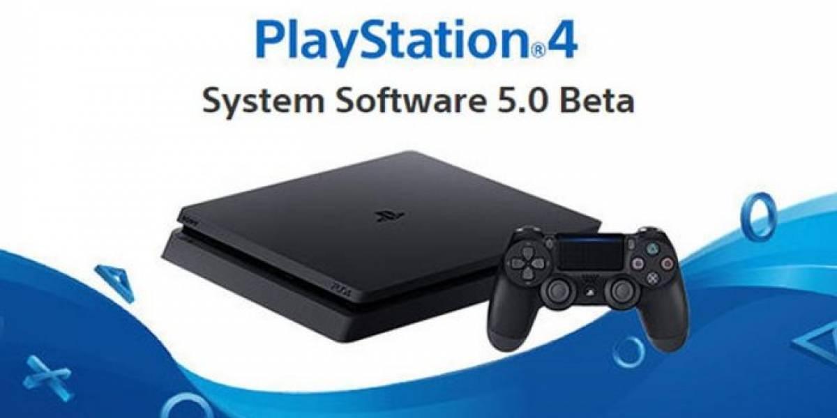 Ya es posible registrarse para la Beta del Firmware 5.0 para PS4