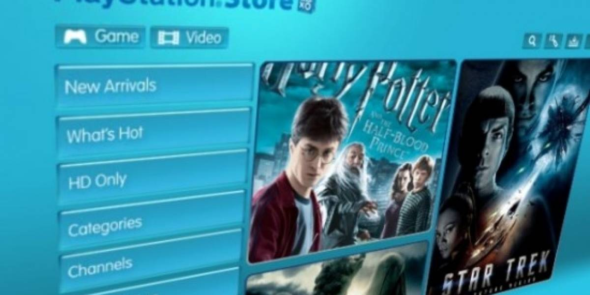 Todas las películas en HD en PlayStation Network