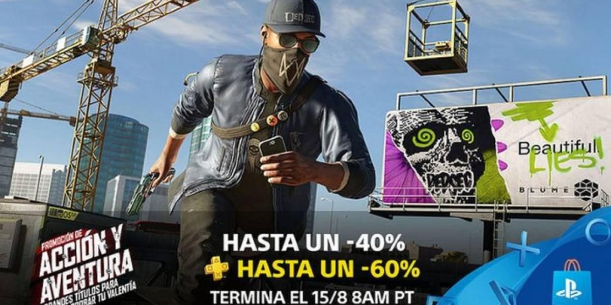 PlayStation Store tiene venta especial en juegos de Acción y Aventura