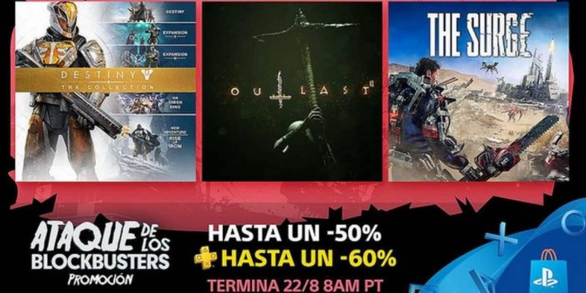 PlayStation Store lanza la promoción Ataque de los Blockbusters