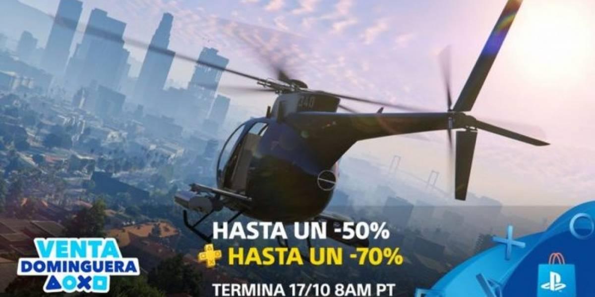 PlayStation Store tiene Venta Dominguera con descuentos de hasta el 70%