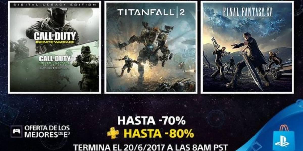 PlayStation Store tiene venta especial con Los Mejores de E3
