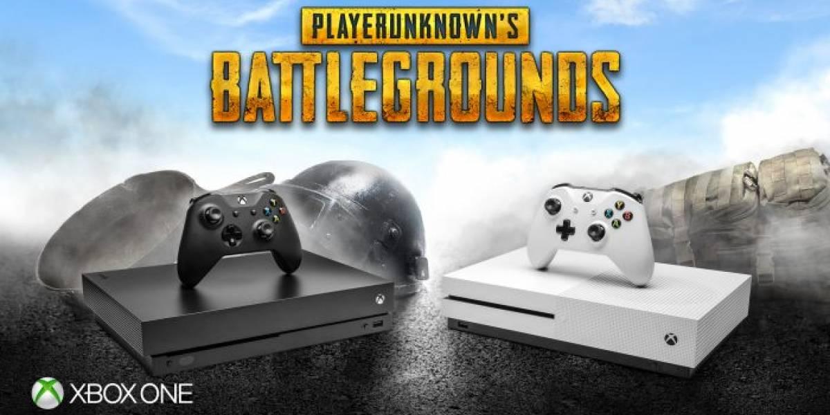 PlayerUnknown's BattleGrounds para Xbox One se lanzará en diciembre