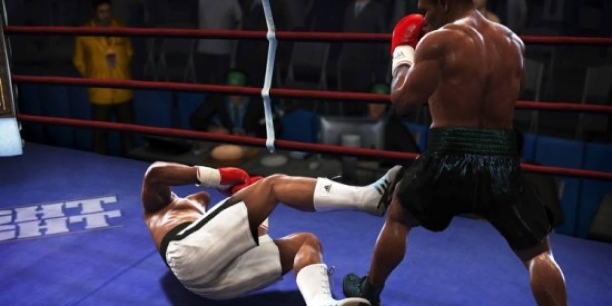 Fight Night Round 4 tendrá DLC muy pronto, golpes con botones