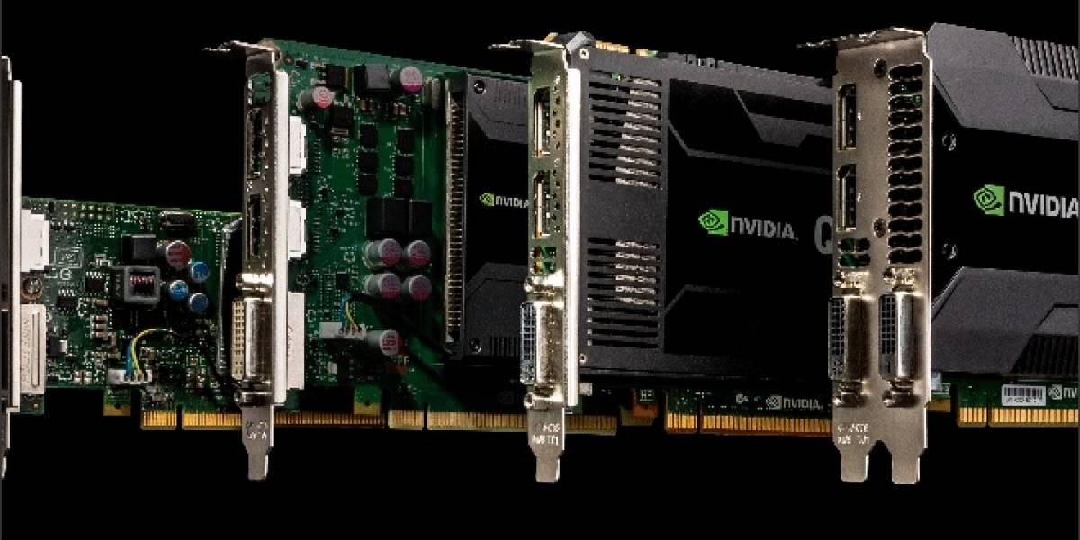 NVIDIA lanza sus nuevas Quadro K4000, K2000, K2000D y K600