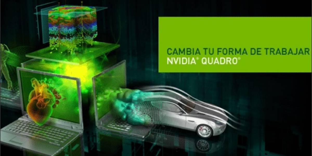NVIDIA anuncia 7 nuevos GPUs Quadro Mobile
