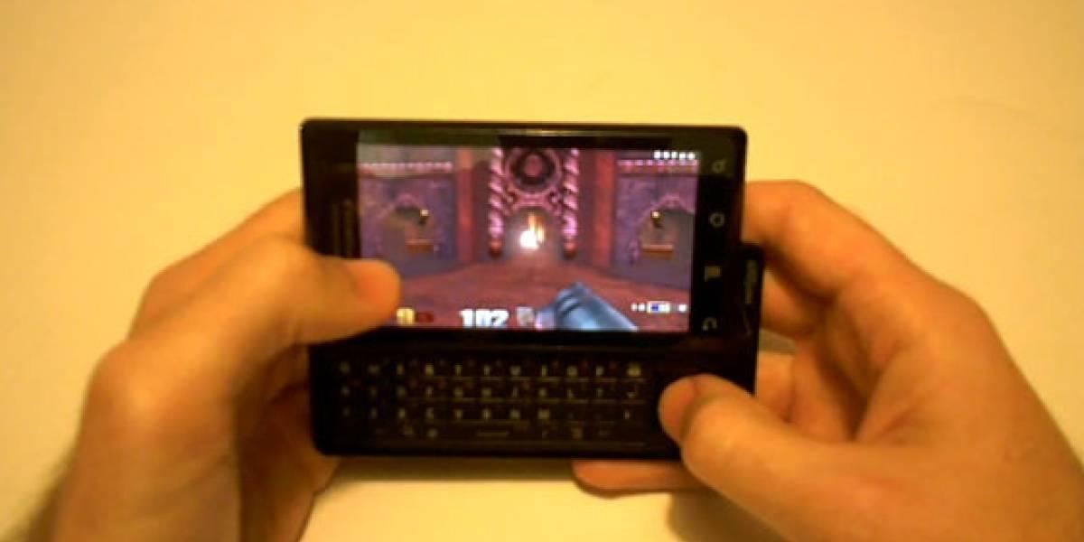Video: Quake III corriendo en un Motorola DROID