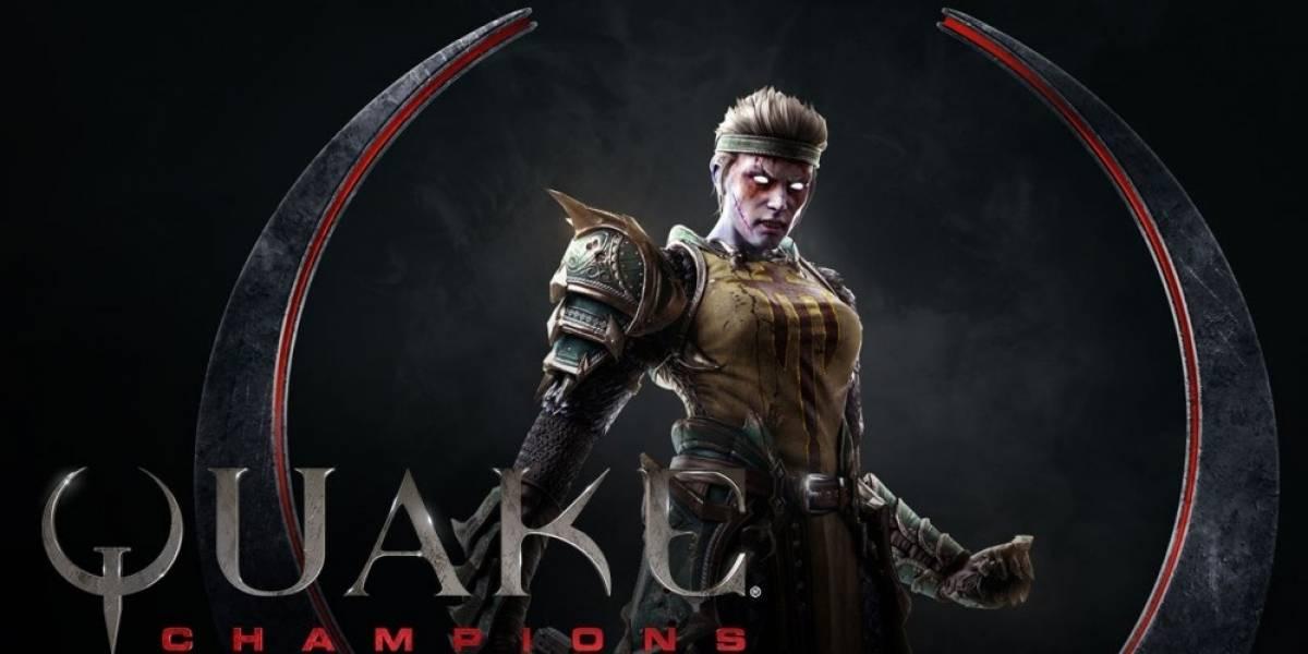Quake Champions tiene nuevo video que nos presenta a Galena