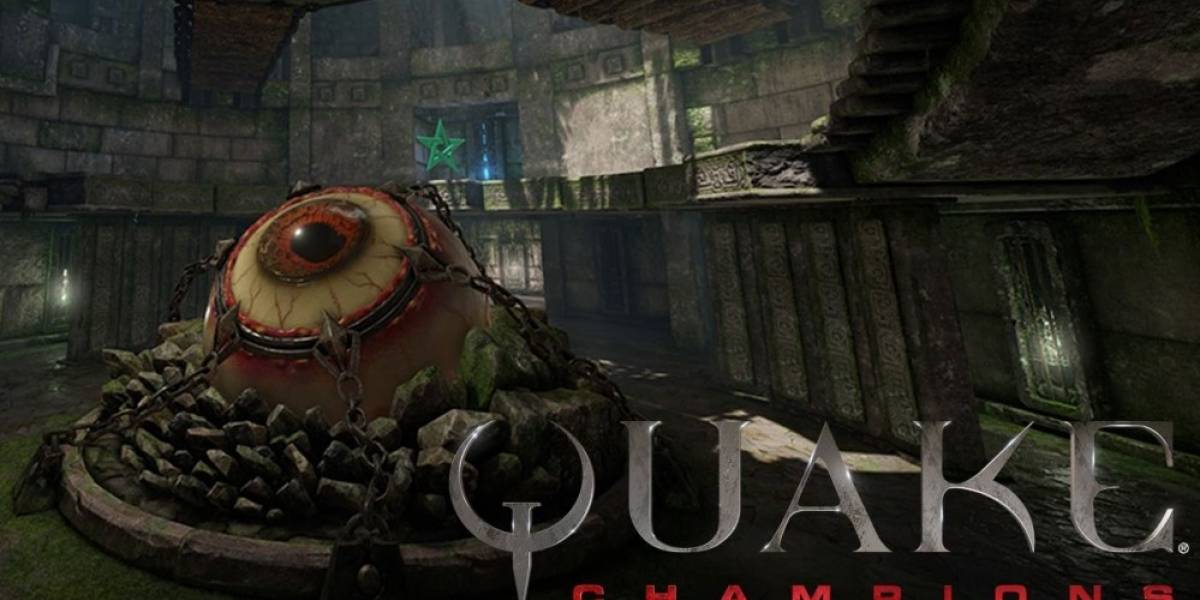 Quake Champions recibe video que nos muestra la arena Ruins of Sarnath