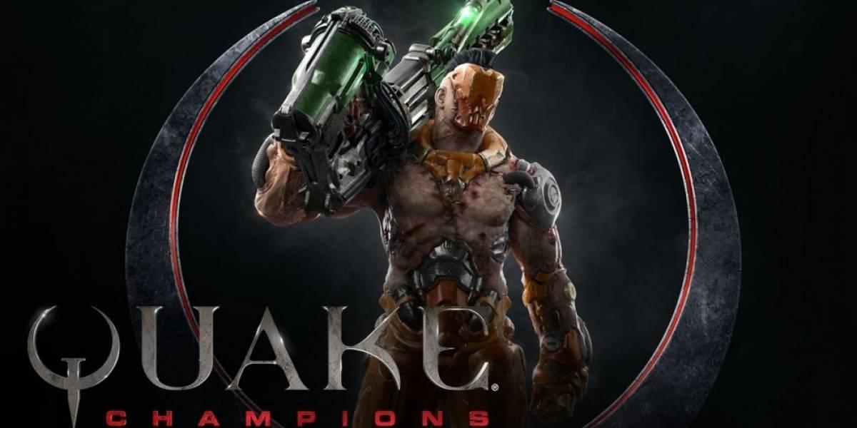 Quake Champions recibe nuevo tráiler que nos presenta a Visor