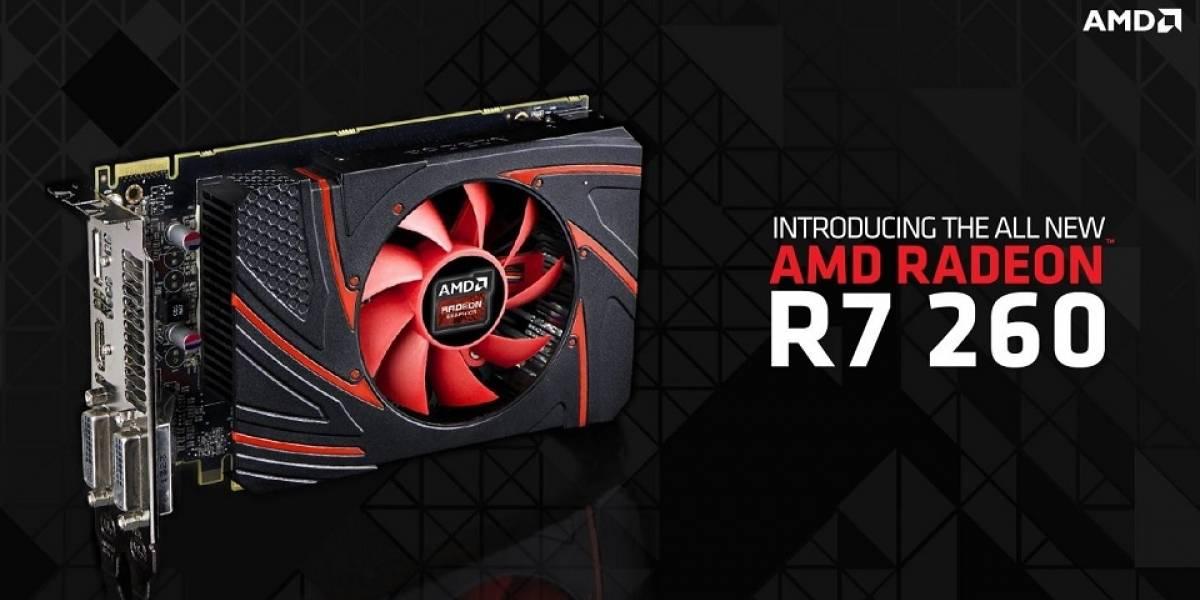 """AMD lanza su GPU Radeon R7 260 """"Bonaire Pro"""""""