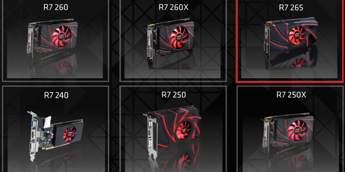 """AMD lanza su nuevo GPU Radeon R7 265 """"Curacao LE"""""""