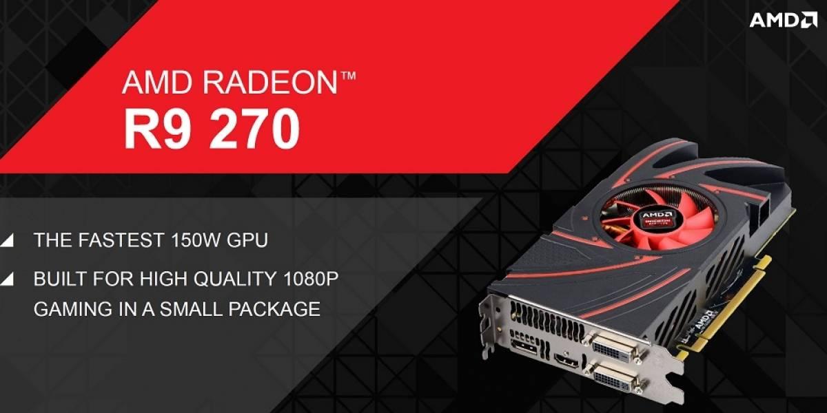 "AMD lanza su GPU Radeon R9 270 ""Curacao Pro"""