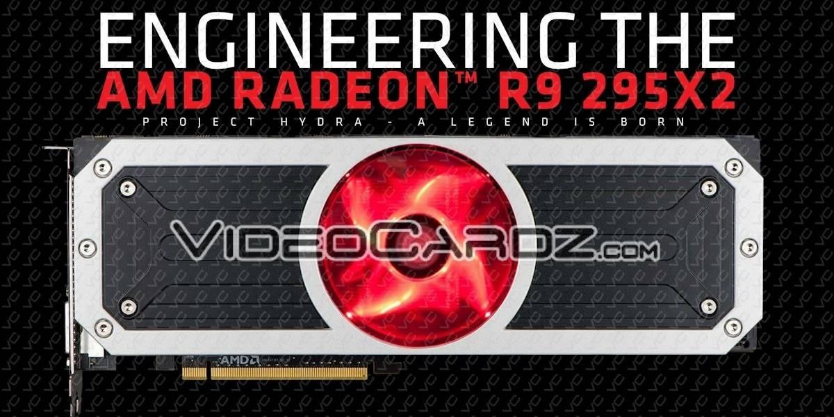 """Especificaciones finales de la tarjeta de video AMD Radeon R9 295X2 """"Vesuvius"""""""