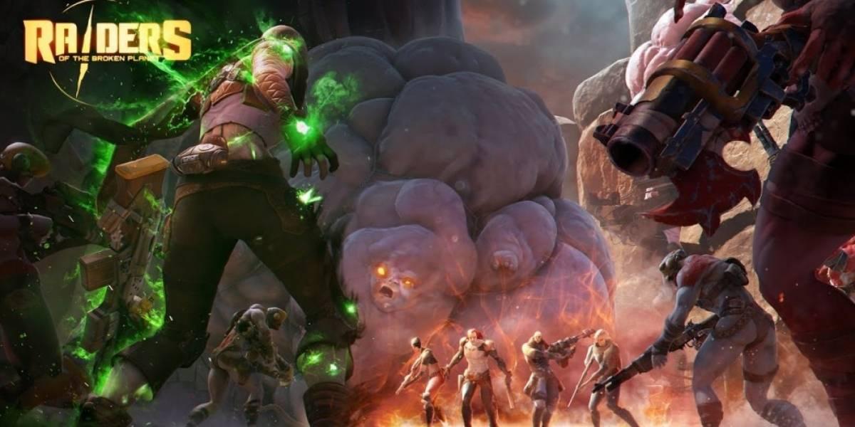 Raiders of the Broken Planet pronto tendrá Beta cerrada