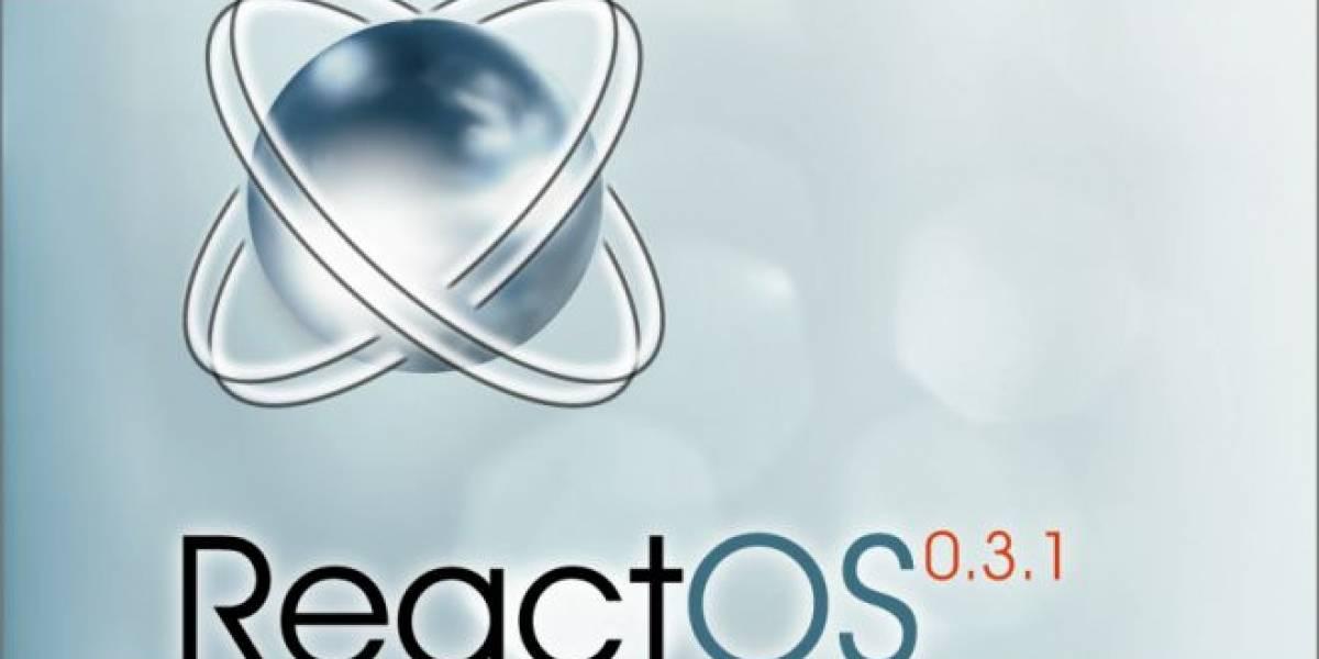 ReactOS 0.3.14 llega cargado de novedades