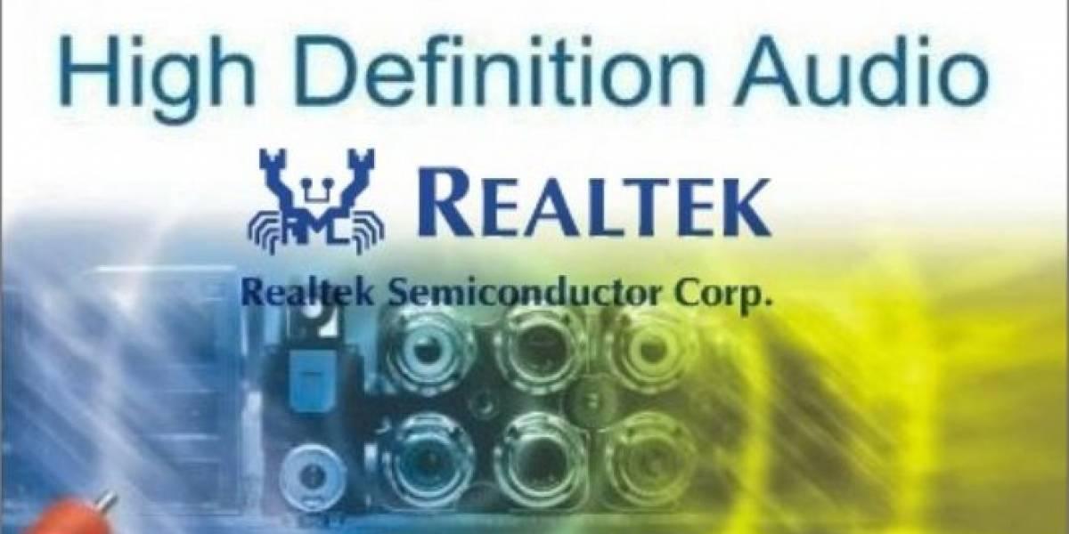 Realtek lanza sus controladores HD Audio Codec R2.75