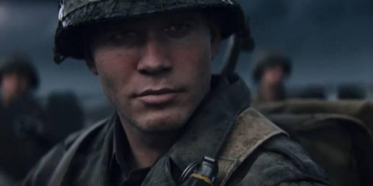 Call of Duty: WWII nos presenta a sus personajes principales