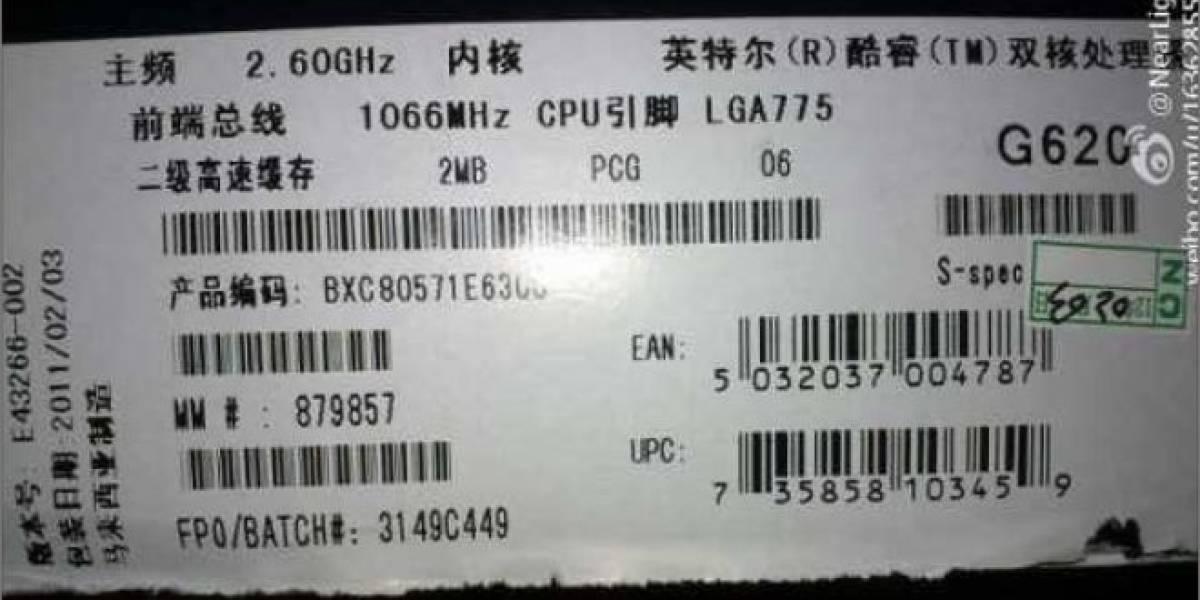 ¡Atención!: Falsifican Pentium G620 y Core i7-990X para zócalo LGA 775