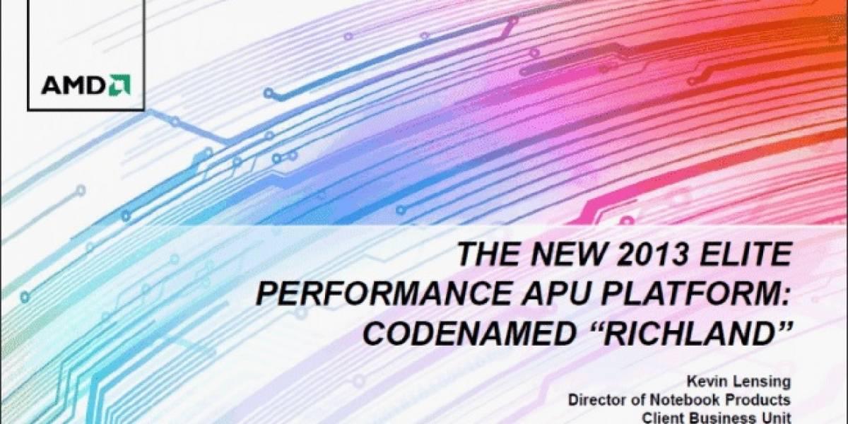 """Los nuevos APU AMD A Series de tercera generación """"Richland"""""""