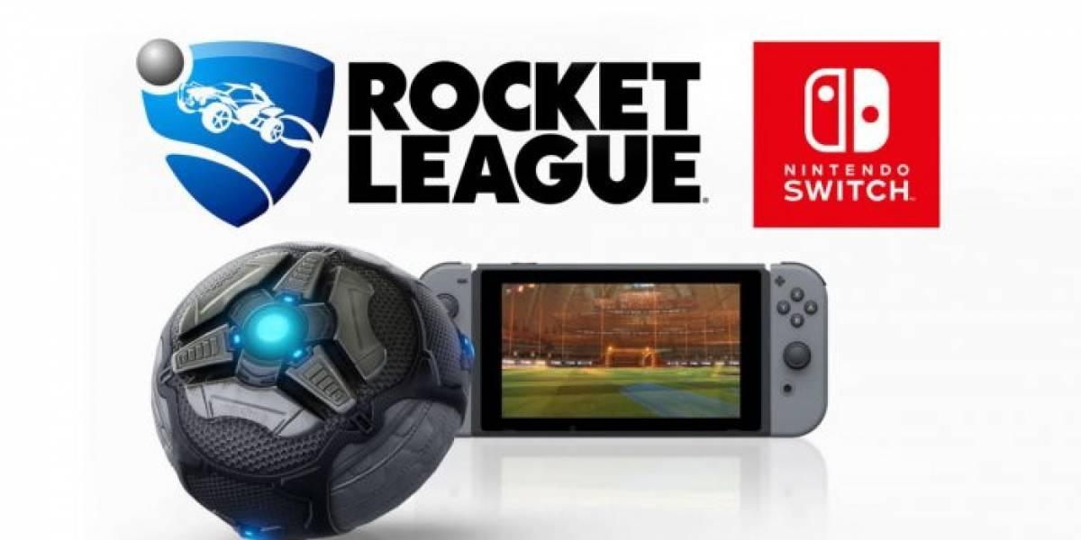 Rocket League correrá a 720p y a 60 fps en la Switch, como portátil y conectada a la TV