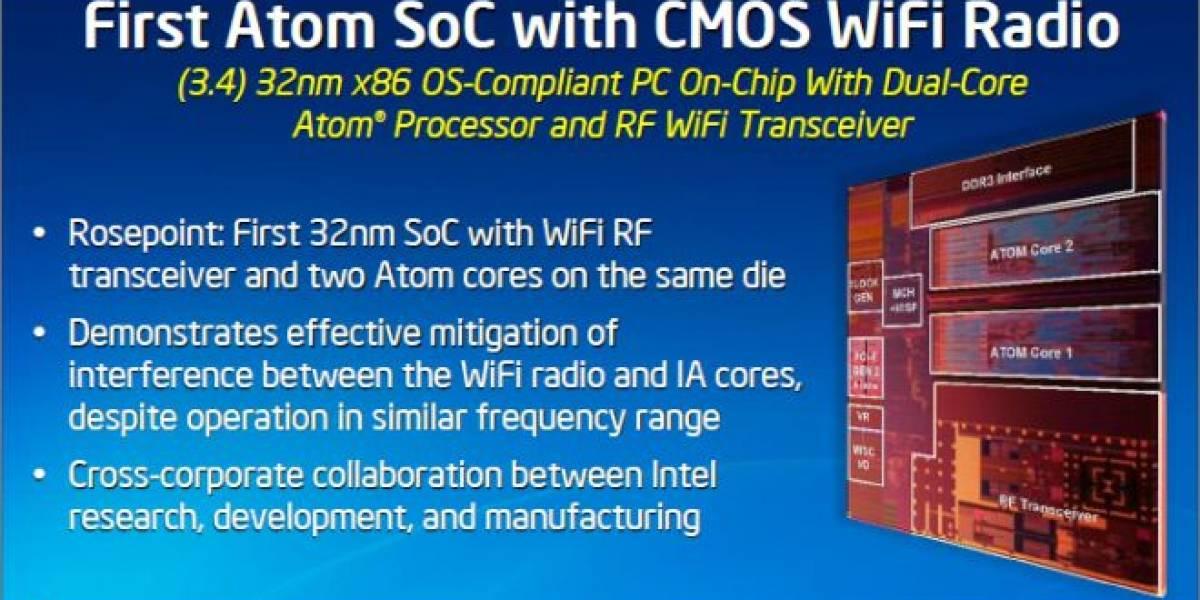 Plataforma Intel Rosepoint: SoC Atom con instrucciones FMA y WiFi integrado
