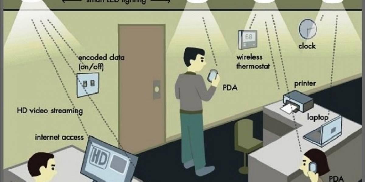 El Li-Fi, con una velocidad de 3Gb/s, podría reemplazar al Wi-Fi