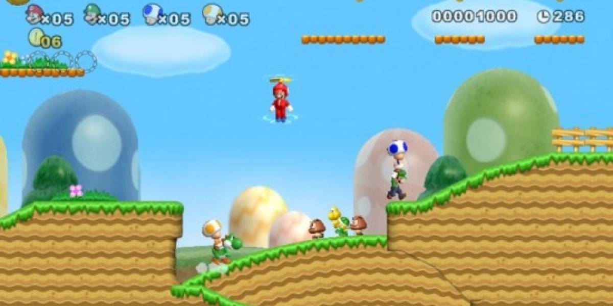 NEW! Super Mario Bros. Wii a primera vista [NB Labs]