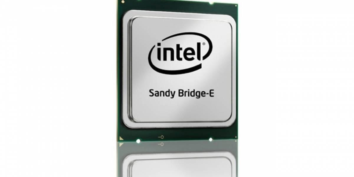 Intel lanza oficialmente nuevo procesador Core i7-3820