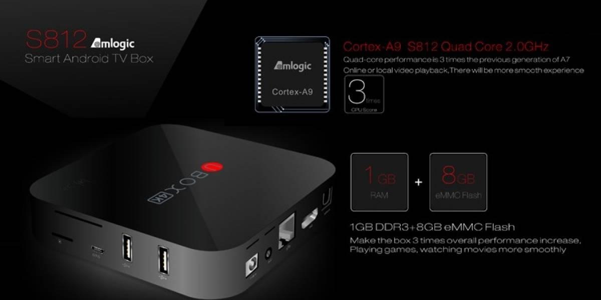 Revisión del Android TV BOX UBOX S812 por nuestra comunidad