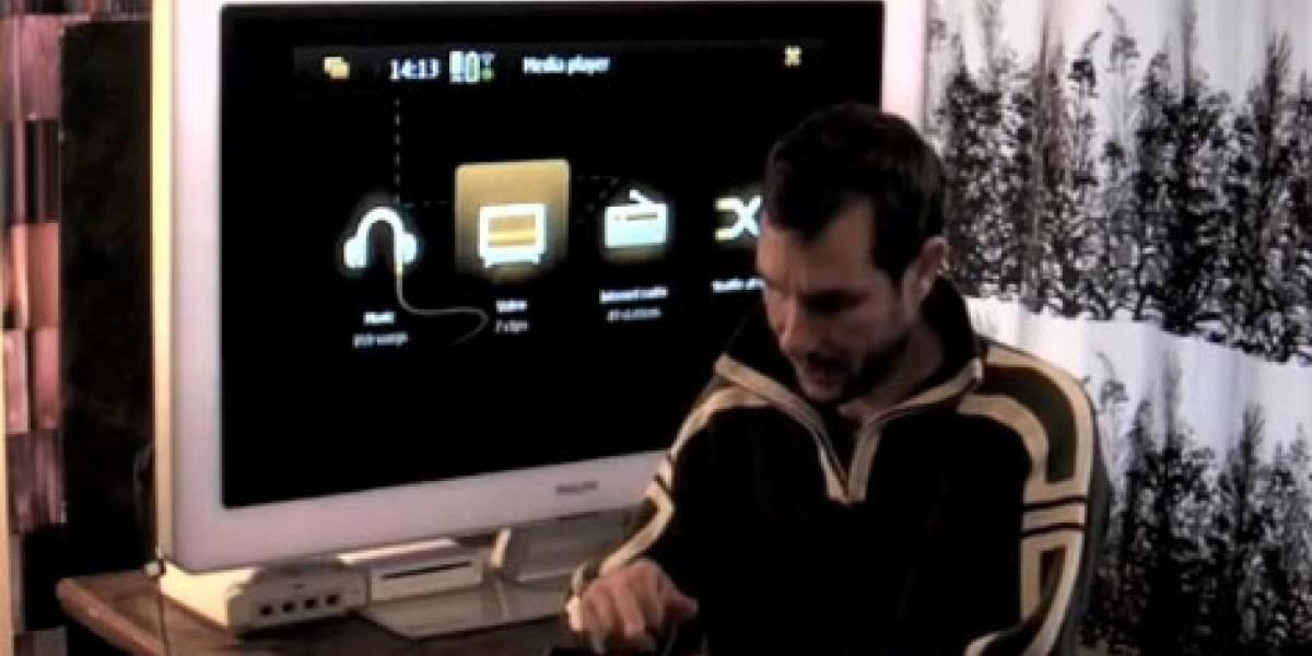 Video: Salida de TV y compartir videos en el Nokia N900