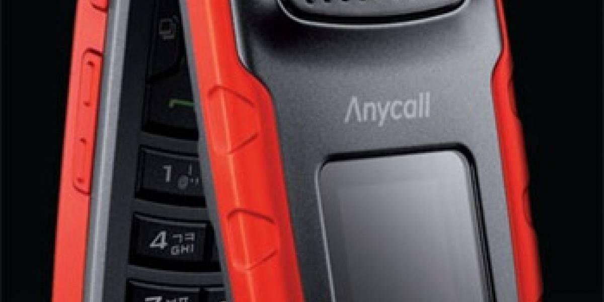 Samsung SPH-W9705: Resistente y atractivo