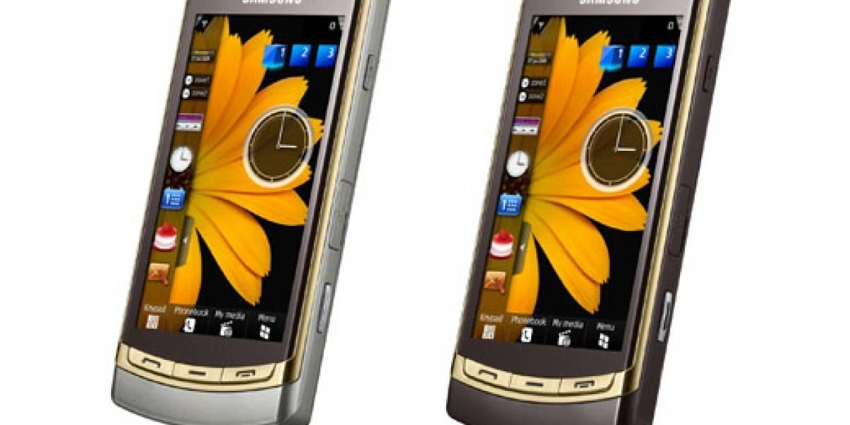 Samsung i8910 HD Gold Edition: Un móvil de 24 kilates