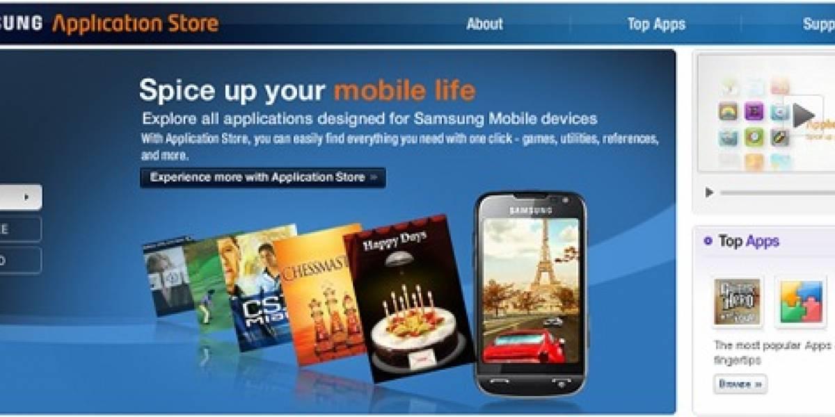 Samsung Application Store ya disponible en algunos países de Europa