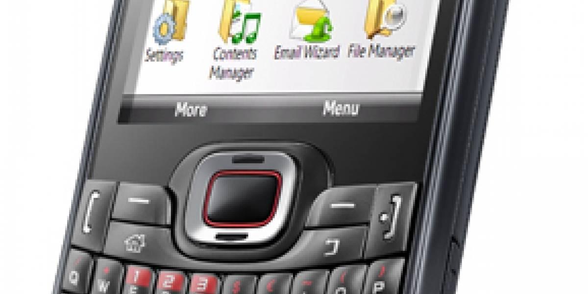 Samsung Omnia PRO B7330, anunciado oficialmente con Windows Mobile 6.5
