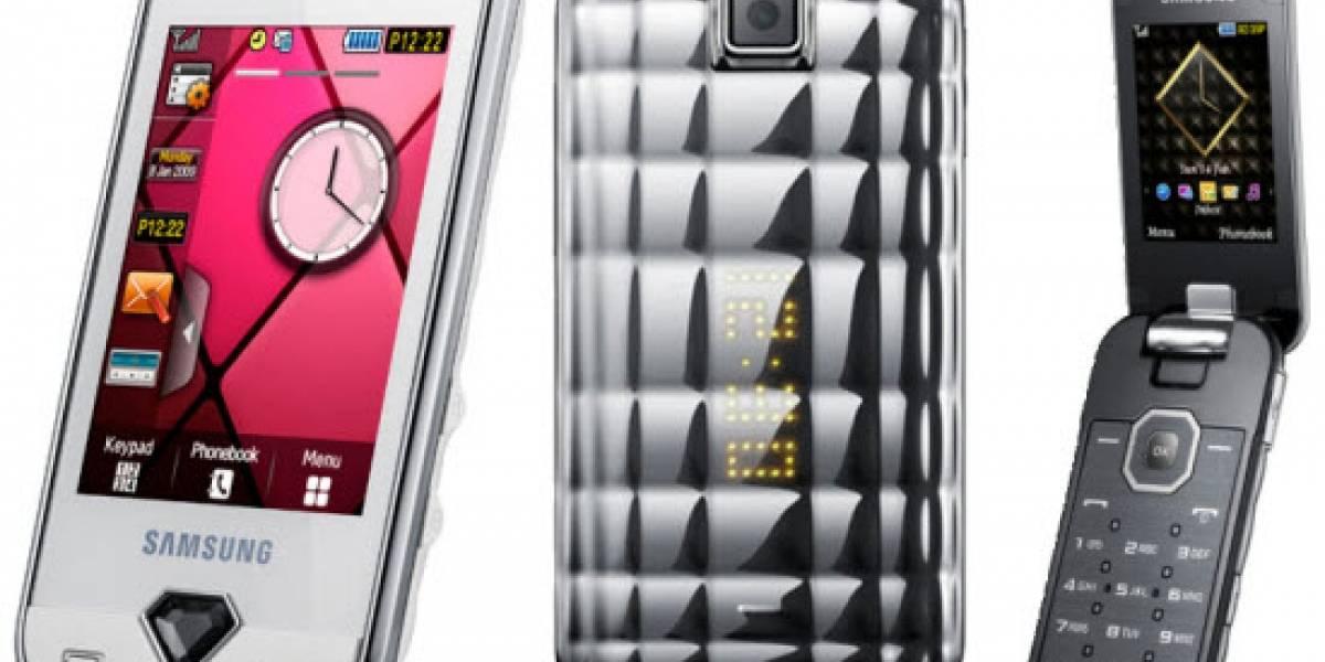 Colección Samsung Diva: S7070 y S5150 anunciados oficialmente